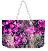 Pink Majestic Garden- Art By Linda Woods Weekender Tote Bag