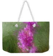 Pink Nature Abstract Weekender Tote Bag