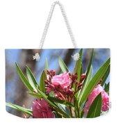 Pink Oleander IIi Weekender Tote Bag