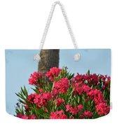 Pink Oleander Weekender Tote Bag
