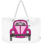 Pink On Wheels Weekender Tote Bag