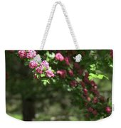 Pink Orchard Blossoms Weekender Tote Bag by Patricia Strand