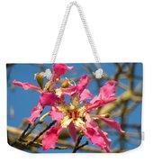 Pink Orchid Tree Weekender Tote Bag
