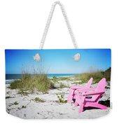 Pink Paradise Vanilla Pop Weekender Tote Bag