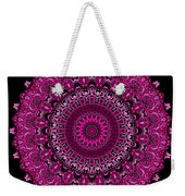 Pink Passion No. 7 Mandala Weekender Tote Bag