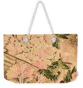 Pink Peonies - Kimono Series Weekender Tote Bag