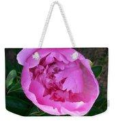 Pink Peoony In Bloom Weekender Tote Bag