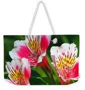 Pink Peruvian Lily 2 Weekender Tote Bag