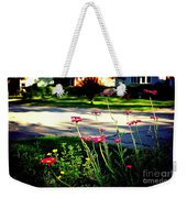 Pink Petals In The Sunlight Weekender Tote Bag