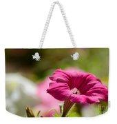 Pink Petunia Weekender Tote Bag