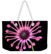 Pink Pinwheel Weekender Tote Bag