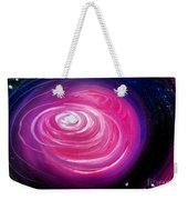 Pink Planet With Diffusing Atmosphere Weekender Tote Bag
