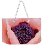 Pink Poppy Soul Weekender Tote Bag