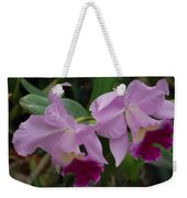 Pink Purple Orchids Weekender Tote Bag