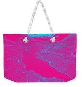 Pink River Weekender Tote Bag