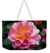 Pink Rose 3 Weekender Tote Bag