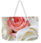 Pink Rose Among White Roses Weekender Tote Bag