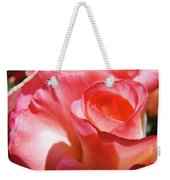 Pink Rose Art Prints Floral Summer Rose Flower Baslee Troutman Weekender Tote Bag