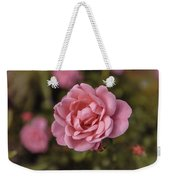 Pink Rose Instagram Weekender Tote Bag