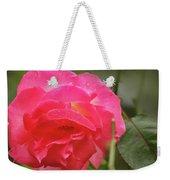 Pink Rose Weekender Tote Bag by Kelly Hazel