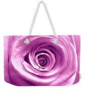 Pink Rose Macro Hdr Weekender Tote Bag