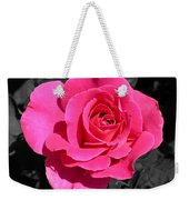 Perfect Pink Rose Weekender Tote Bag