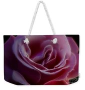 Pink Rose Portrait Weekender Tote Bag