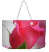 Pink Rosebud 1 Weekender Tote Bag