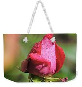 Pink Rosebud Weekender Tote Bag