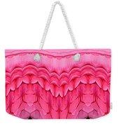 Pink Roses Polar Coordinates Effect 1 Weekender Tote Bag