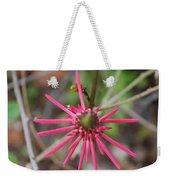 Pink Spikes Weekender Tote Bag