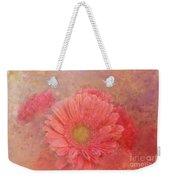 Pink Spring Weekender Tote Bag