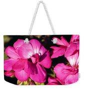 Pink Spring Florals Weekender Tote Bag