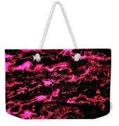 Pink Storm Weekender Tote Bag