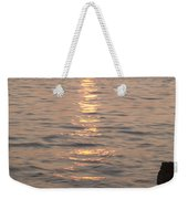Pink Sunset Over The Istrian Peninsula Weekender Tote Bag
