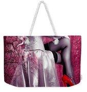Pink Weekender Tote Bag by Svetlana Sewell