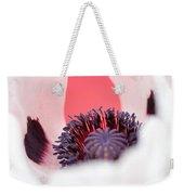 Pink Through The Poppy Weekender Tote Bag