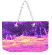 Pink Tidal Pool Weekender Tote Bag