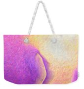Pink To Yellow Girl. Weekender Tote Bag