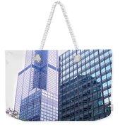 Pink Tower Weekender Tote Bag