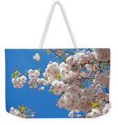 Pink Tree Blossoms Art Prints 55 Spring Flowers Blue Sky Landscape  Weekender Tote Bag