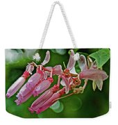 Pink Tropical Flower In Huntington Botanical Garden In San Marino-california Weekender Tote Bag