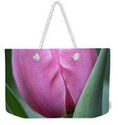 Pink Tulip Beauty Weekender Tote Bag