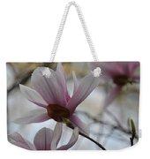 Pink Tulip Magnolias Weekender Tote Bag