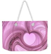 Pink Valentine Weekender Tote Bag