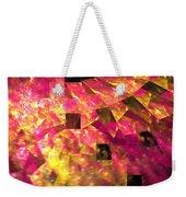 Pink Windows Weekender Tote Bag
