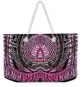 Pink World Or Enlightenment Weekender Tote Bag