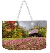 Pinks In The Pasture Weekender Tote Bag