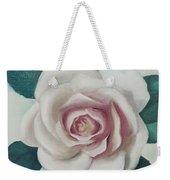 Pinky Flower Weekender Tote Bag