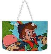 Pinocchio Weekender Tote Bag